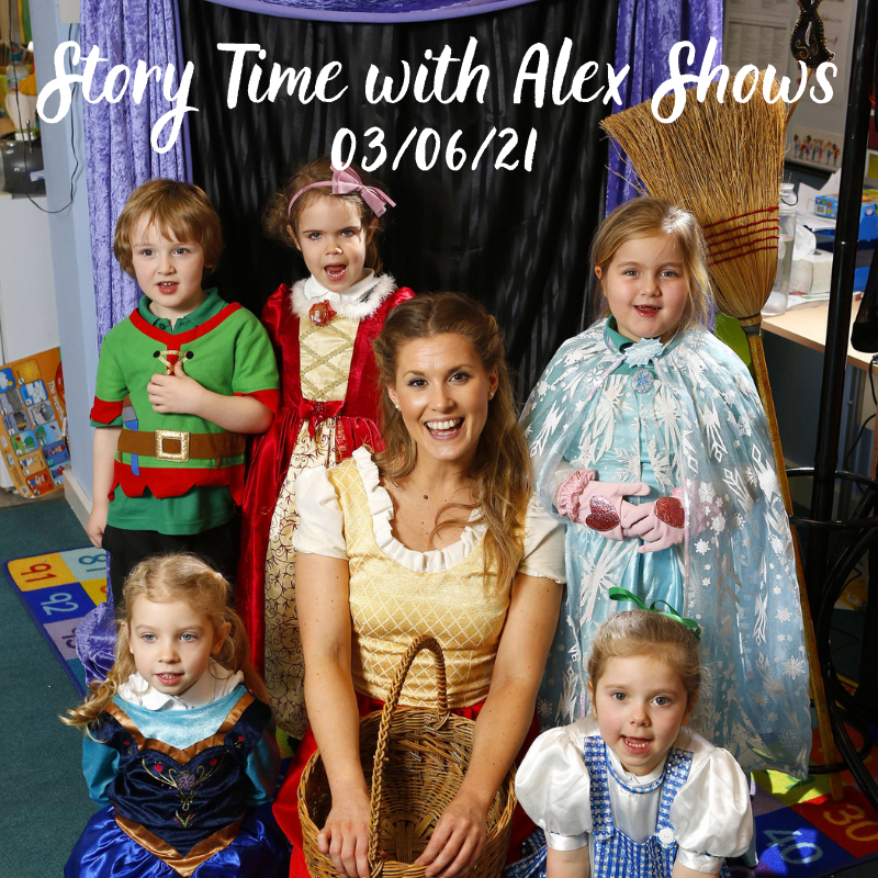 Story Time with Alex Shows – Squash and a Squeeze followed by The Paper Dolls