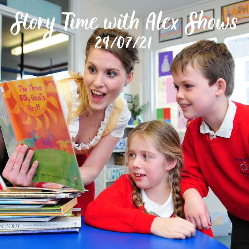 Story Time with Alex Shows – The Highway Rat & Zog followed by The Gruffalo