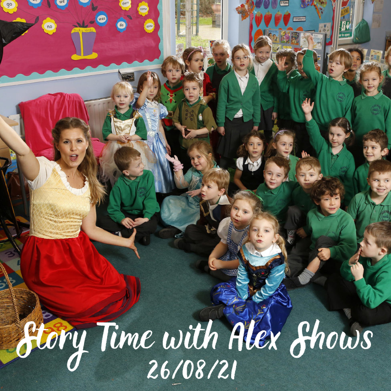 Story Time with Alex Shows – The Gruffalo followed by What the Ladybird Heard