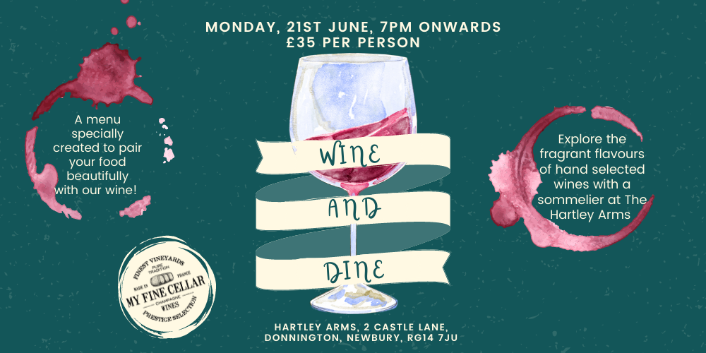 Wine and Dine at the Hartley Arms Pub