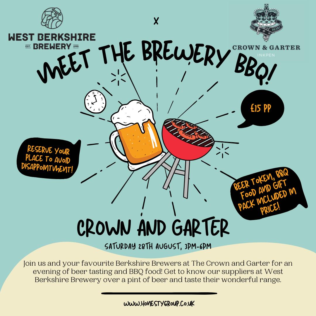 Meet the Brewery BBQ – Crown & Garter